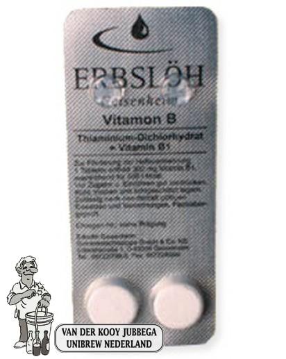 Erbslöh vitamon B , 2 tabletten inhoud