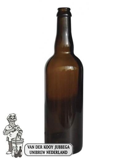 Bier fles belge 75 cl 26 mm