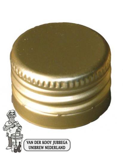 Pilferproofcapsules 31.5 X 24 Aluminium 1000 stuks