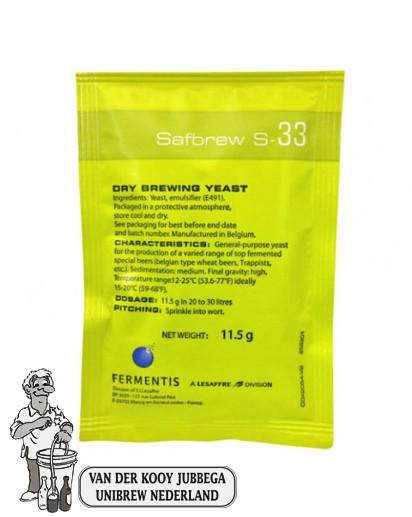 Fermentis Safbrew S-33 11,5 gram
