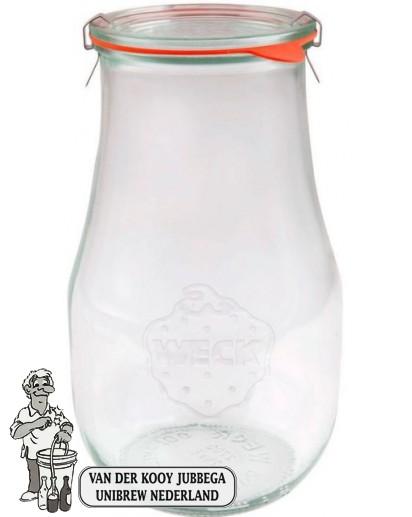 Weckglas tulp 2,7 ltr. per stuk 739 (exclusief weckklemmen)