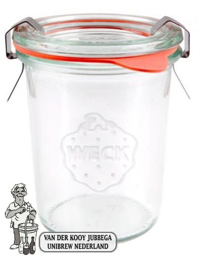 Weckglas mini stort 160 ml. per stuk 760 (exclusief weckklemmen)