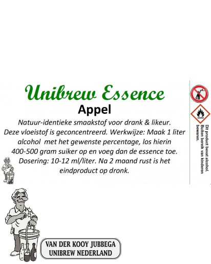 Unibrew essence Appel 50 ml