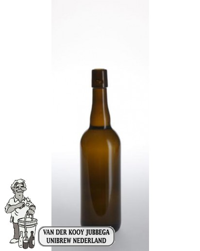 Bier fles 75 cl Biere Belge Beugelfles