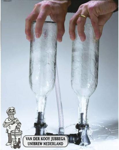 Flessenspoeler dubbel Blast