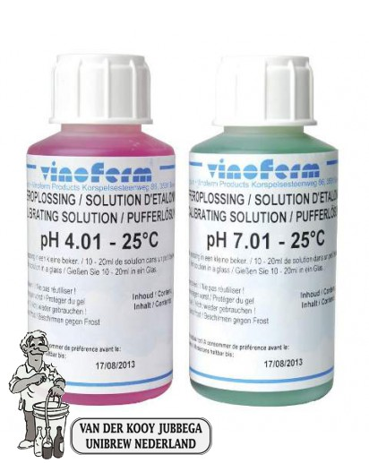 PH Bufferoplossing 2x100 ml.