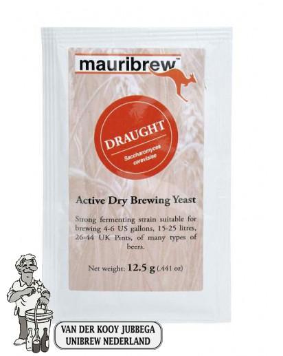 Mauribrew Draught biergist 12.5 gram