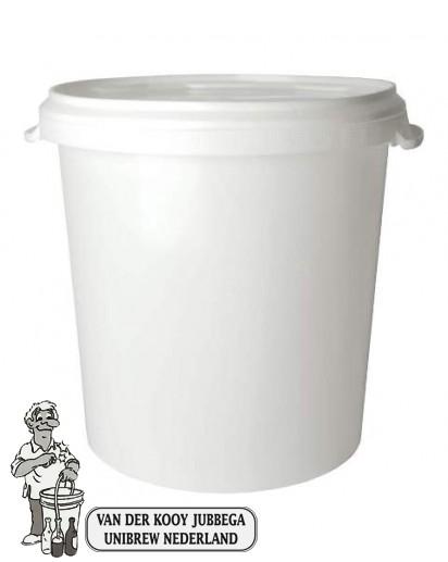 Gistings emmer met deksel van 30 liter