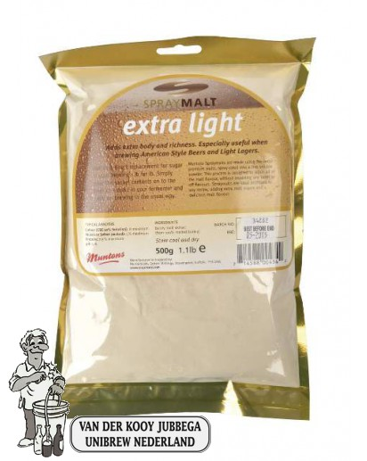 Muntons Moutextractpoeder Extra Light 8 EBC 0,5 kg