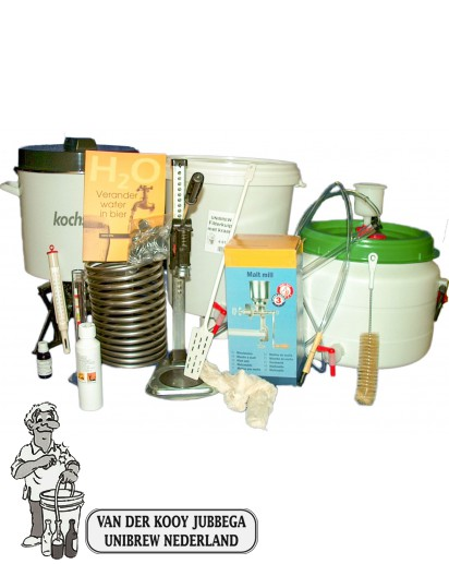 Bierbrouw Pakket Compleet Gas (Graan )