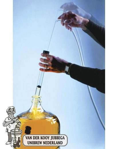 Fermtech Automatische hevel Groot met antidroesem + 2 mtr slang