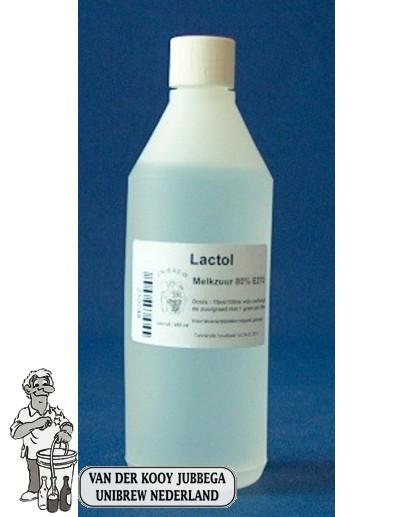 Melkzuur 80% 5 liter (lactol)