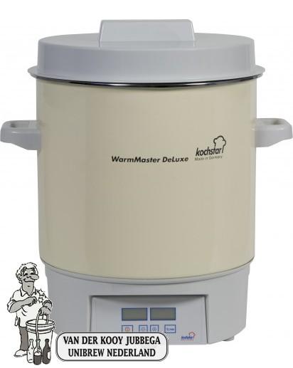 Kochstar Emaïlle 27 liter pan met digitale display, tijd en temperatuurinstelling.
