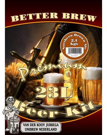 Better Brew Northern Brown Ale 2.1 KG.
