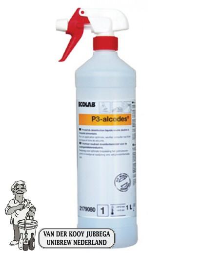 Ecolab P3-ALCODES 1 ltr met sproeikop (maximaal 1 per order)