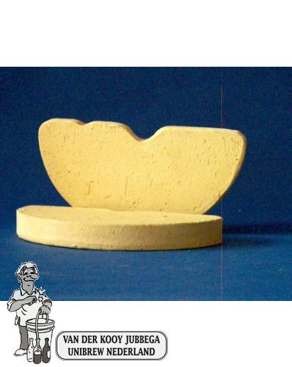 Inlegsteen voor zuurkoolpot 5 liter 2 stuks
