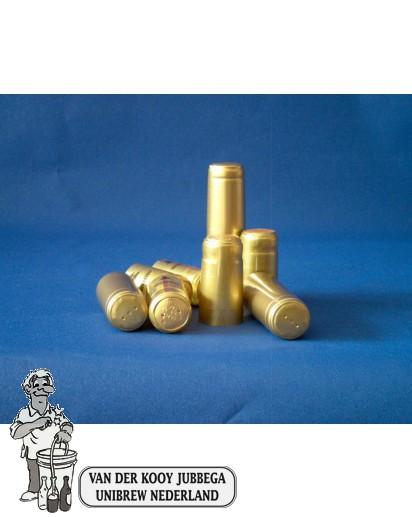 Krimpkapsules 50 stuks goud