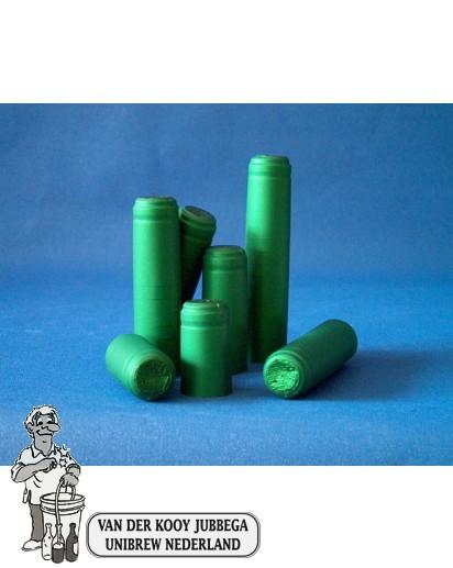 Krimpkapsules 50 stuks groen
