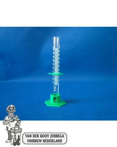 Maatglas gegradeerd 20 ml voor zuur meting