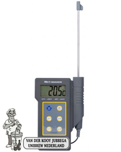 Digitale thermometer -50˚C + 300˚C