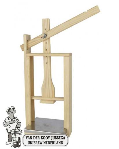 Kaaspers hout met RVS plaat LACTOFERM