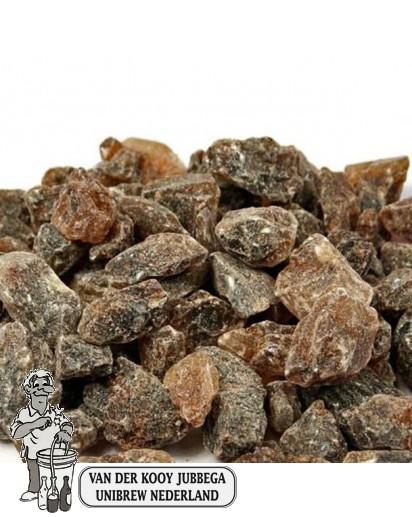 Kandij suiker brokken bruin 25 KG