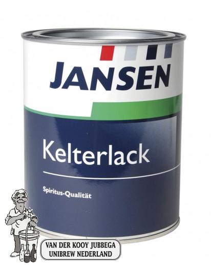Lak voor fruitpersen WIT 750 ml Kelterlack