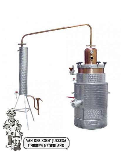 Destilleerketel SUPER 25 aardgas