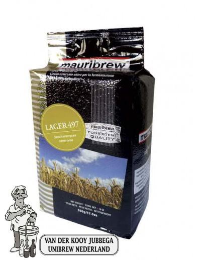 Mauribrew Lager 497  biergist 500 gram