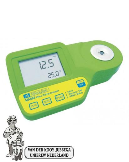 Refractometer digitaal universeel met ATC