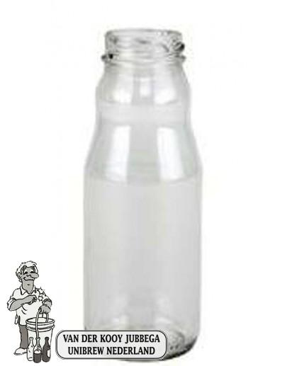 Sapfles 200 ml. per 30 stuks Twist - off deksel