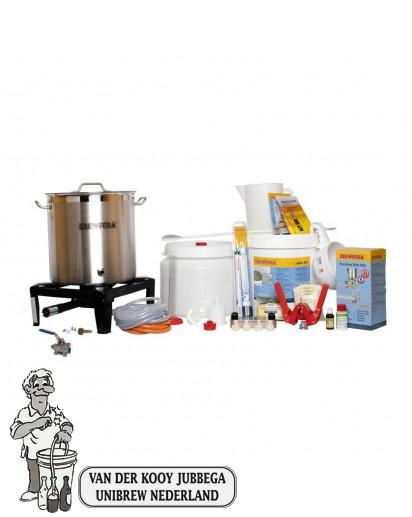 Brewferm Startset Superior Gas + Moutpakket  Aktie