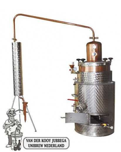 Destilleerketel SUPER 125  butaan/propaan