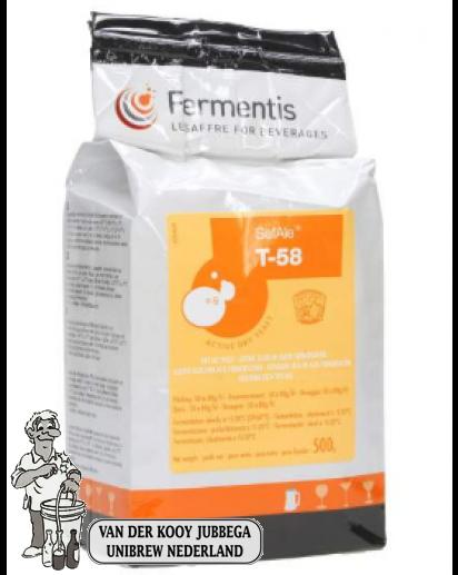 Fermentis safale T- 58 500 Gram.