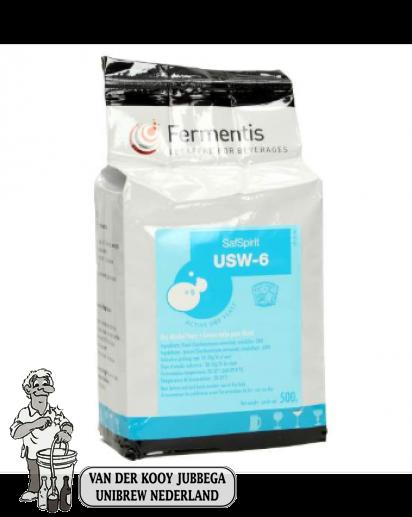 Fermentis gedroogde gist SafSpirit USW-6 500 g