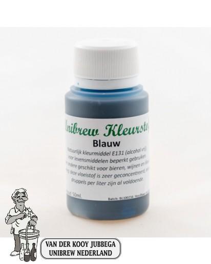Unibrew kleurstof vloeibaar blauw 50 ml