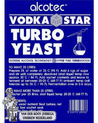 Alcotec Vodka star / 10 stuks