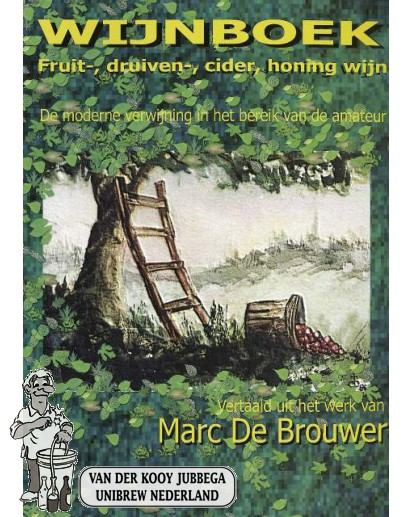 Wijnboek  Marc de Brouwer