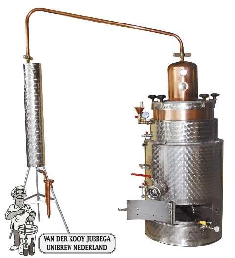 Rvs distilleerketel