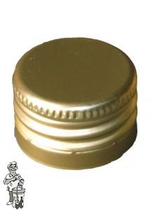 Pilferproofcapsules 28 X 18 Aluminium 100 stuks