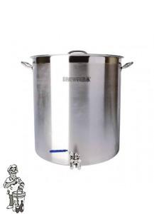 Brewferm brouwketel RVS 143 liter met bolkraan (55 x 60 cm) Nog 2 op voorraad