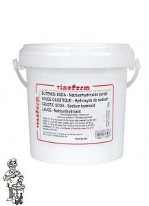 Bijtende Soda ( natriumhydroxide ) 25KG (online product.)