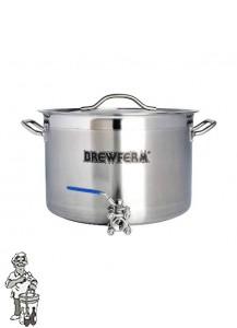 Brewferm brouwketel RVS 25 liter (36 x 24 cm)