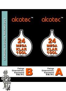 Alcotec 24 MegaKlar voor 100L