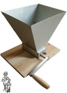 Schrootmolen met verstelbare rollen (Bulldog mat mill)