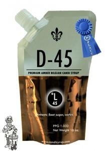 Candi Syrup D-45 premium amber