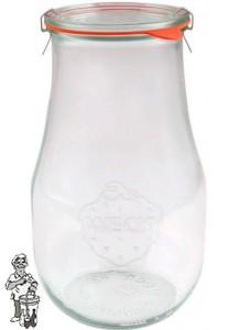 Weckglas tulp 1.5 ltr. per stuk 738 (exclusief weckklemmen)