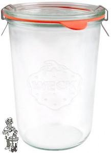 Weckglas stort 0,85 ltr. per stuk 743 (exclusief weckklemmen)