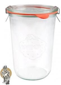 Weckglas stort 0,85 ltr. per doos van 6 stuks 743 (exclusief weckklemmen)
