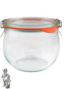 Weckglas tulp 0,58 ltr. per stuk 744 (exclusief weckklemmen)